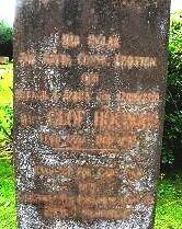 Kyrkoherde Olof Högmans gravsten